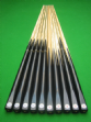 One piece ash club snooker cues